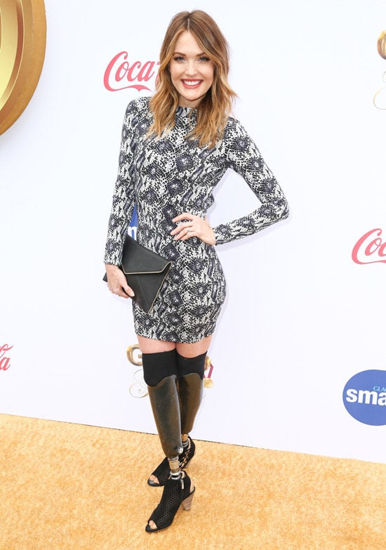 Amy Purdy 6th Annual Gold Meets Golden - Arrivals