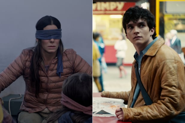 Black Mirror Bandersnatch Bird Box