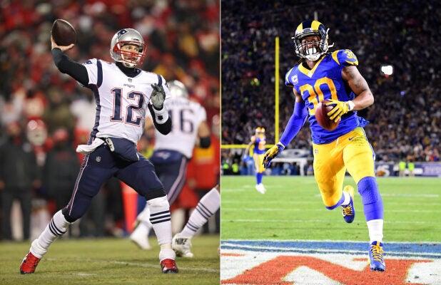 Super Bowl LIII Rams Patriots