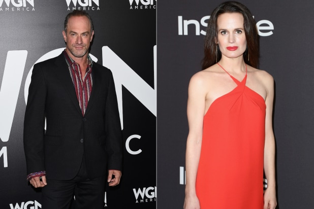 Chris Meloni-Elizabeth Reaser