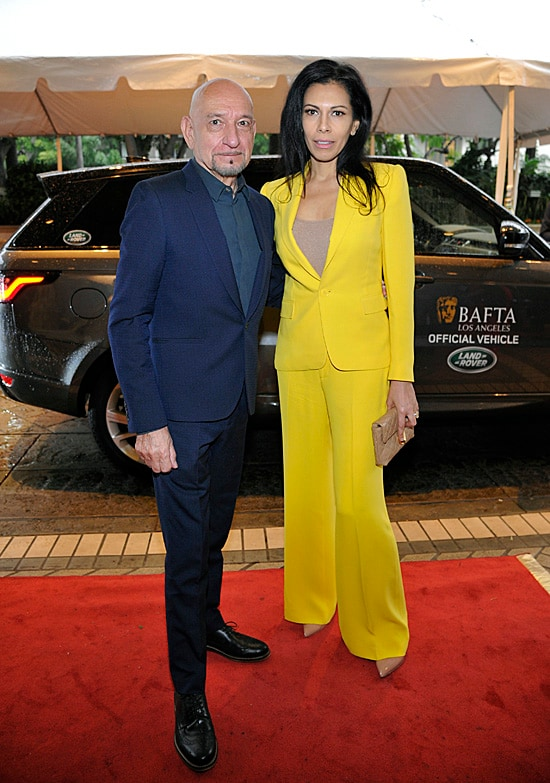 Ben Kingsley and Daniela Lavender BAFTA Tea Party
