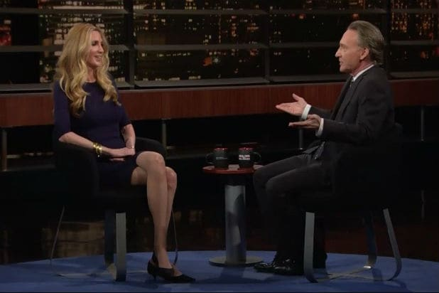 Bill Maher and Ann Coulter