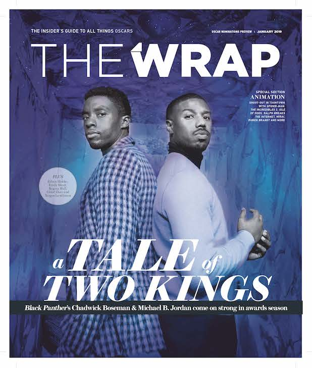 Black Panther OscarWrap cover