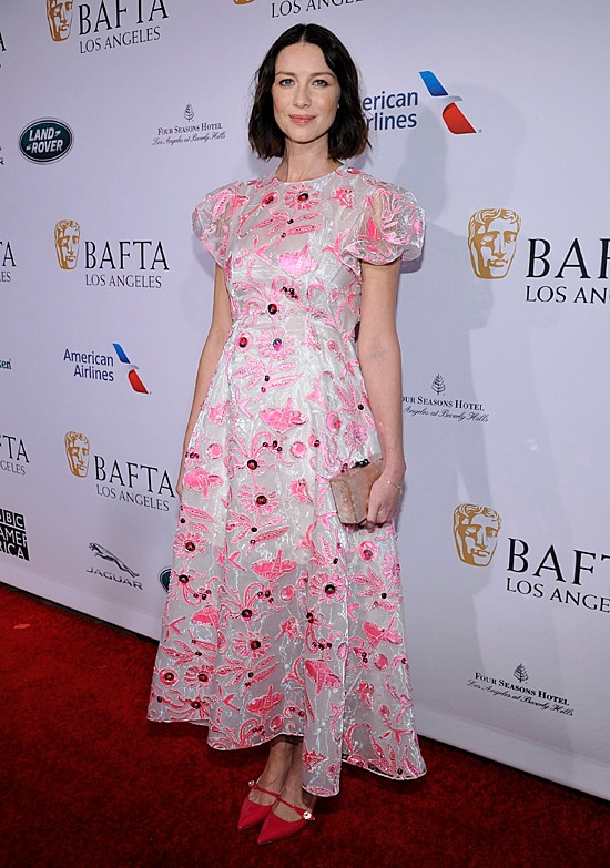 Caitriona Balfe BAFTA Tea Party
