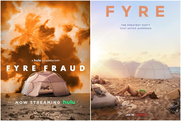 Hulu Releases Fyre Festival Documentary 4 Days Before Netflix's Own Doc