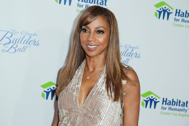 Holly Robinson Peete attends Habitat For Humanity Of Greater Los Angeles' 2018 Los Angeles Builders Ball at The Beverly Hilton Hotel on September 27, 2018 in Beverly Hills, California.