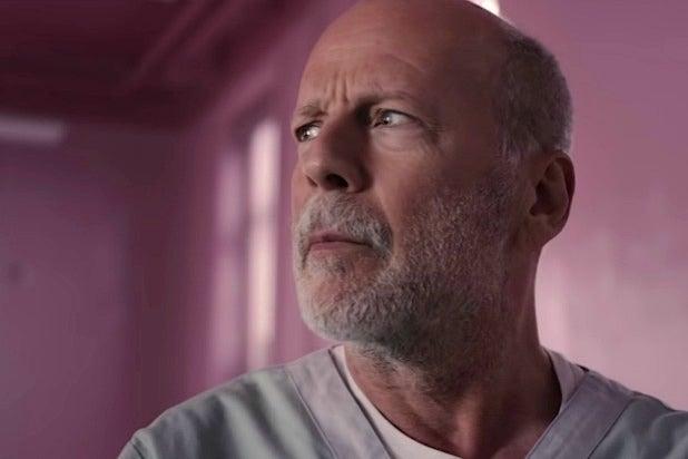 Glass Bruce Willis