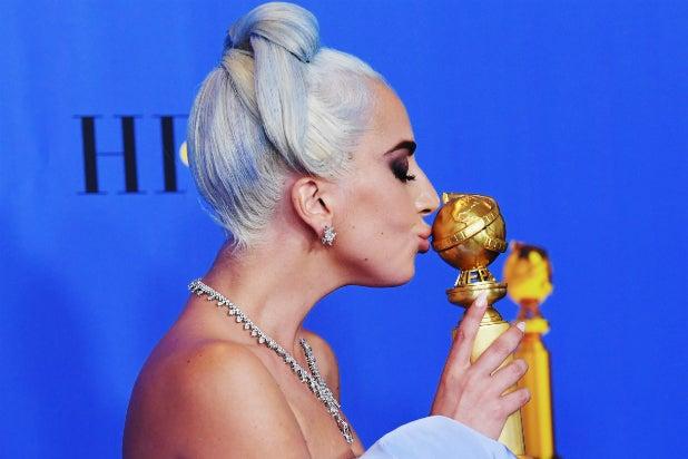 Golden Globes - Lady Gaga