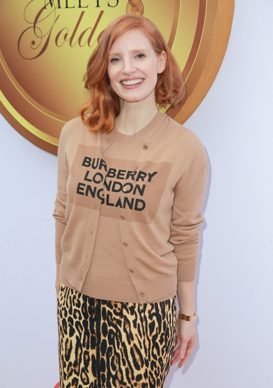 Jessica Chastain 6th Annual Gold Meets Golden - Arrivals