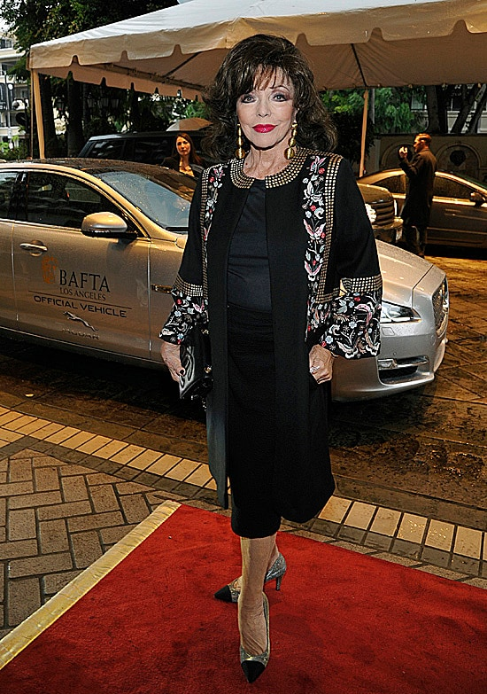 Joan Collins BAFTA Tea Party