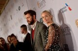 John Krasinski and Emily Blunt BAFTA Los Angeles Tea Party