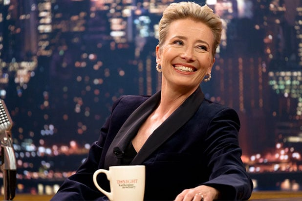 Late Night Emma Thompson Mindy Kaling