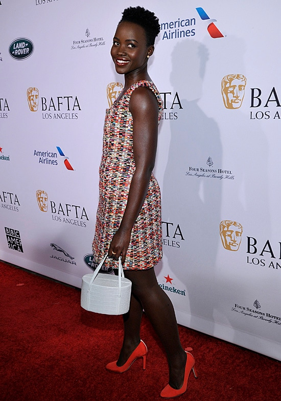 Lupita Nyong'o BAFTA Tea Party