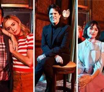 'Mary Poppins Returns' Lin-Manuel Miranda, Emily Blunt, Rob Marshall, Emily Mortimer, Ben Whishaw