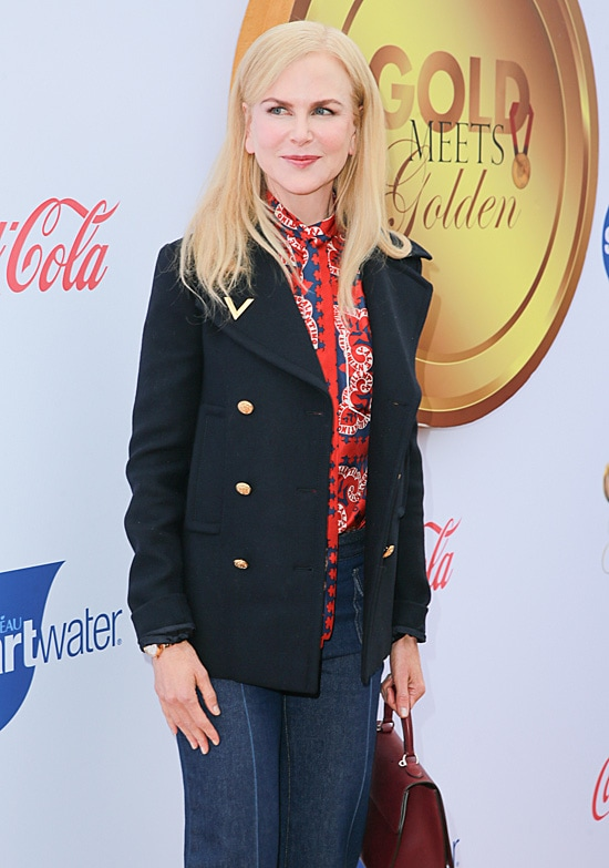 Nicole Kidman 6th Annual Gold Meets Golden - Arrivals