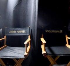 Oscars backstage