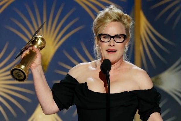 Patricia Arquette Golden Globes 2019