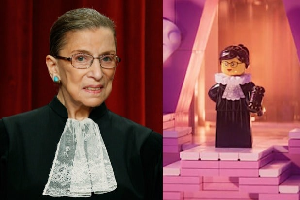 c7381a6346 Ruth Bader Ginsburg Will Make a Cameo in  The LEGO Movie 2  (Video)
