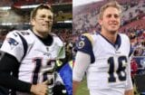 Tom Brady Jared Goff