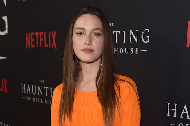 Image result for you haunting of hill house casting