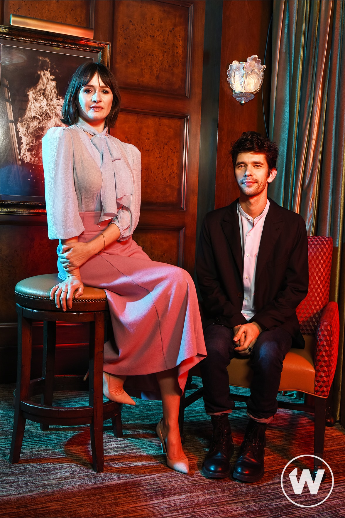 'Mary Poppins Returns' Emily Mortimer and Ben Whishaw