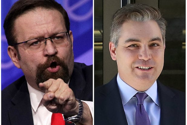 Seb Gorka Says He Called Jim Acosta a 'D---head' During White House Briefing Room Clash