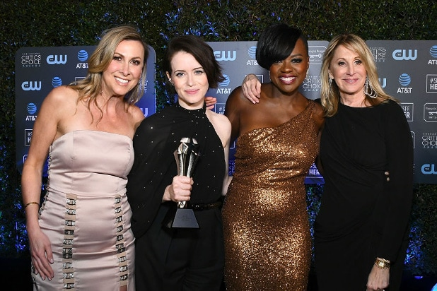 claire foy critics choice awards