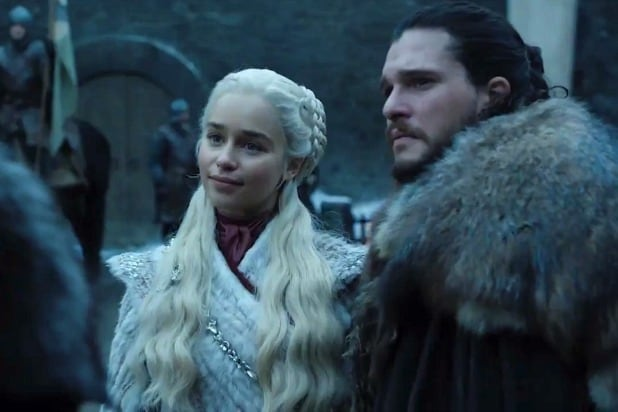 game of thrones dany meets sansa jon snow winterfell first shot hbo