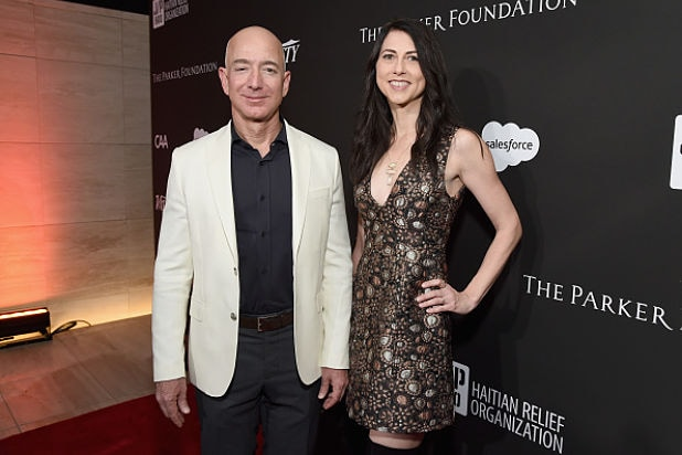 Amazon Investors Unfazed by Jeff Bezos' Divorce From His Wife