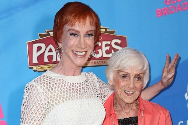 8c4a1fc3246fe Kathy Griffin Says Her Mother Maggie 'Has Rapidly Fallen Into the ...