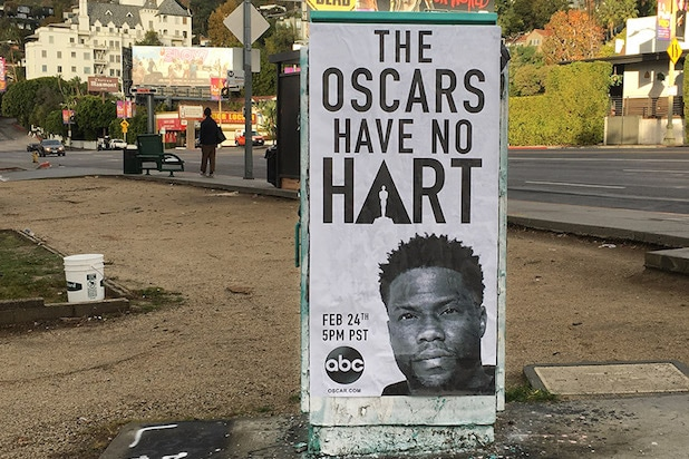Oscars Kevin Hart Poster
