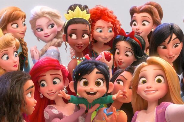 ralph breaks the internet disney princess