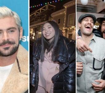 sundance party report 2019 zac efron awkwafina geoff stults jason momoa