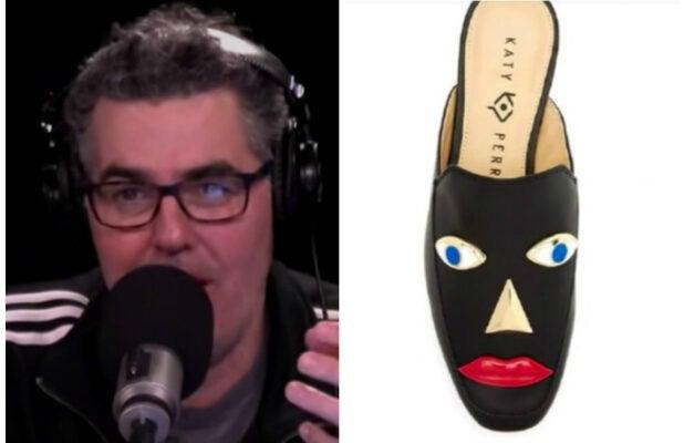 "Adam Carolla on Katy Perry's ""blackface"" shoes"