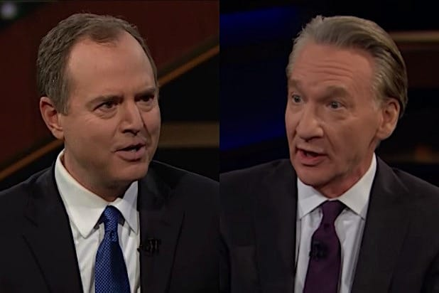 Adam Schiff Bill Maher