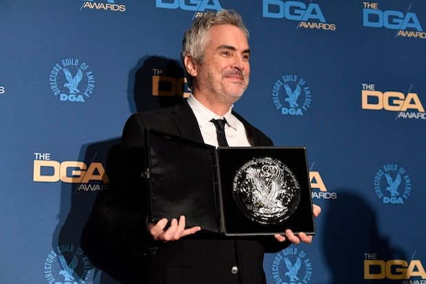 Alfonso Cuaron Wins Directors Guild Award for 'Roma'