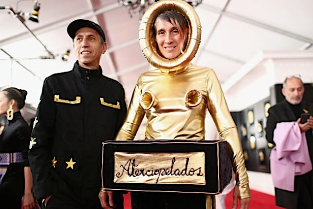 Andrea Echeverry from the Colombian rock band Aterciopelados