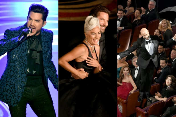 Oscars 2019: 11 Best and Worst Moments, From Lady Gaga-Bradley