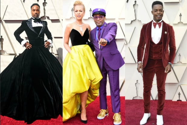 Oscars Billy Porter Spike Lee Stephan James