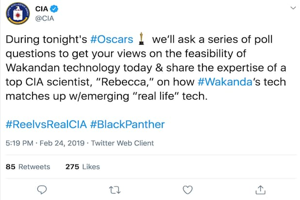 Black Panther CIA