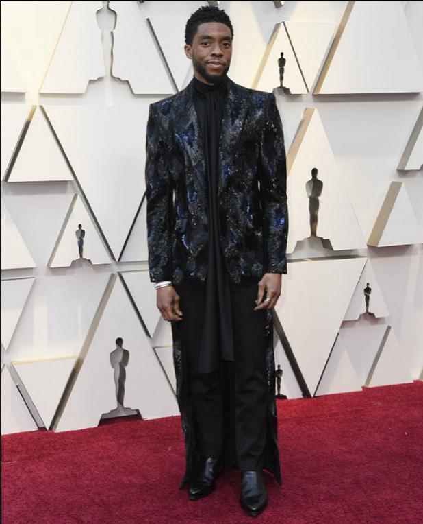 Black Panther Chadwick Boseman Oscars
