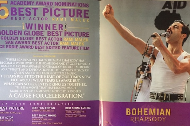 Bohemian Rhapsody ad