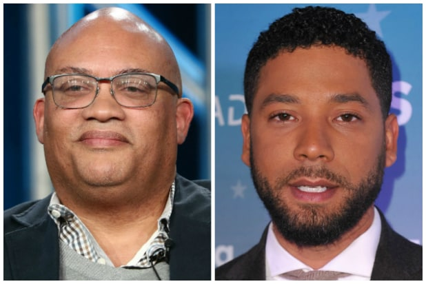 Brett Mahoney and Jussie Smollett