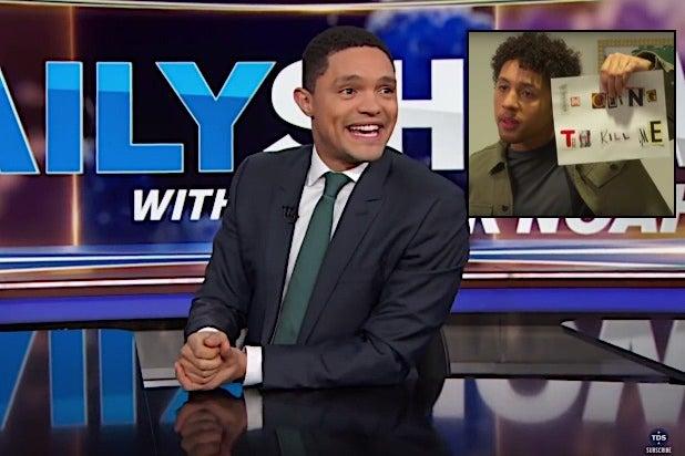 Daily Show Trevor Noah Jussie Smollett