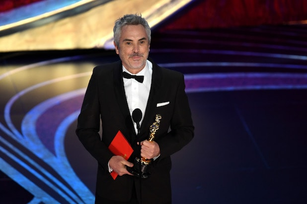 Alfonso Cuaron at the 91st Annual Academy Awards - Show