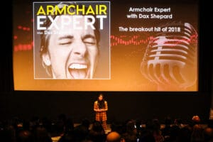 """Armchair Expert"" at Winter Podcast Upfront"