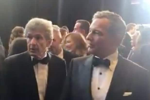 Watch Disney CEO Bob Iger Shooed Off Oscar Red Carpet by Fire Marshal
