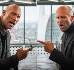 Jason Statham Dwayne Johnson Hobbs and Shaw Fast and Furious