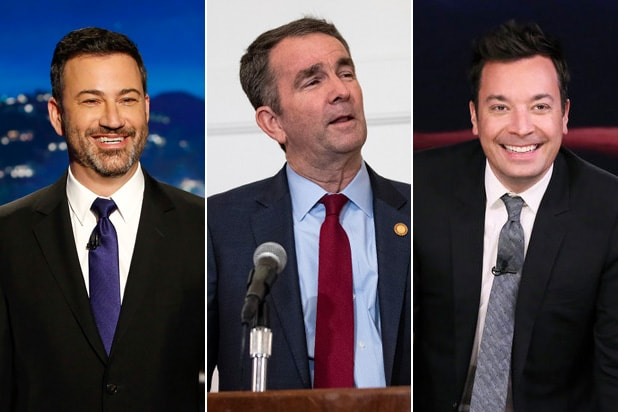 Jimmy Kimmel Jimmy Fallon Ralph Northam blackface