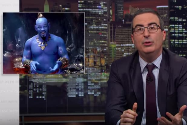 John Oliver Likens Brexit to Will Smith's Genie in Live-Action 'Aladdin'